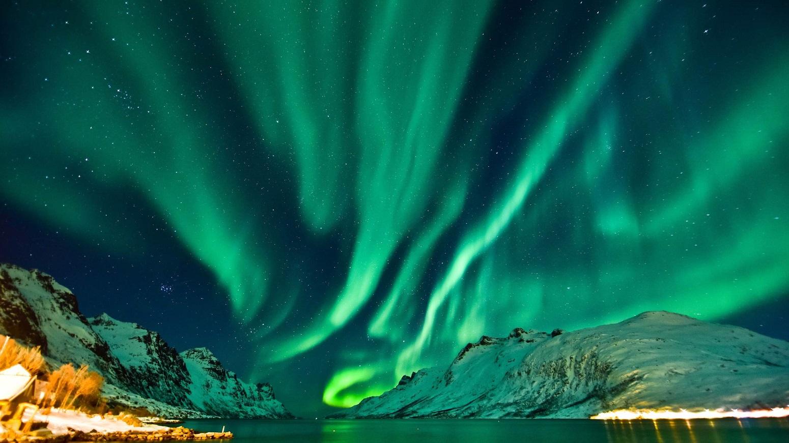 auroras Ivalo Finlandia laponia