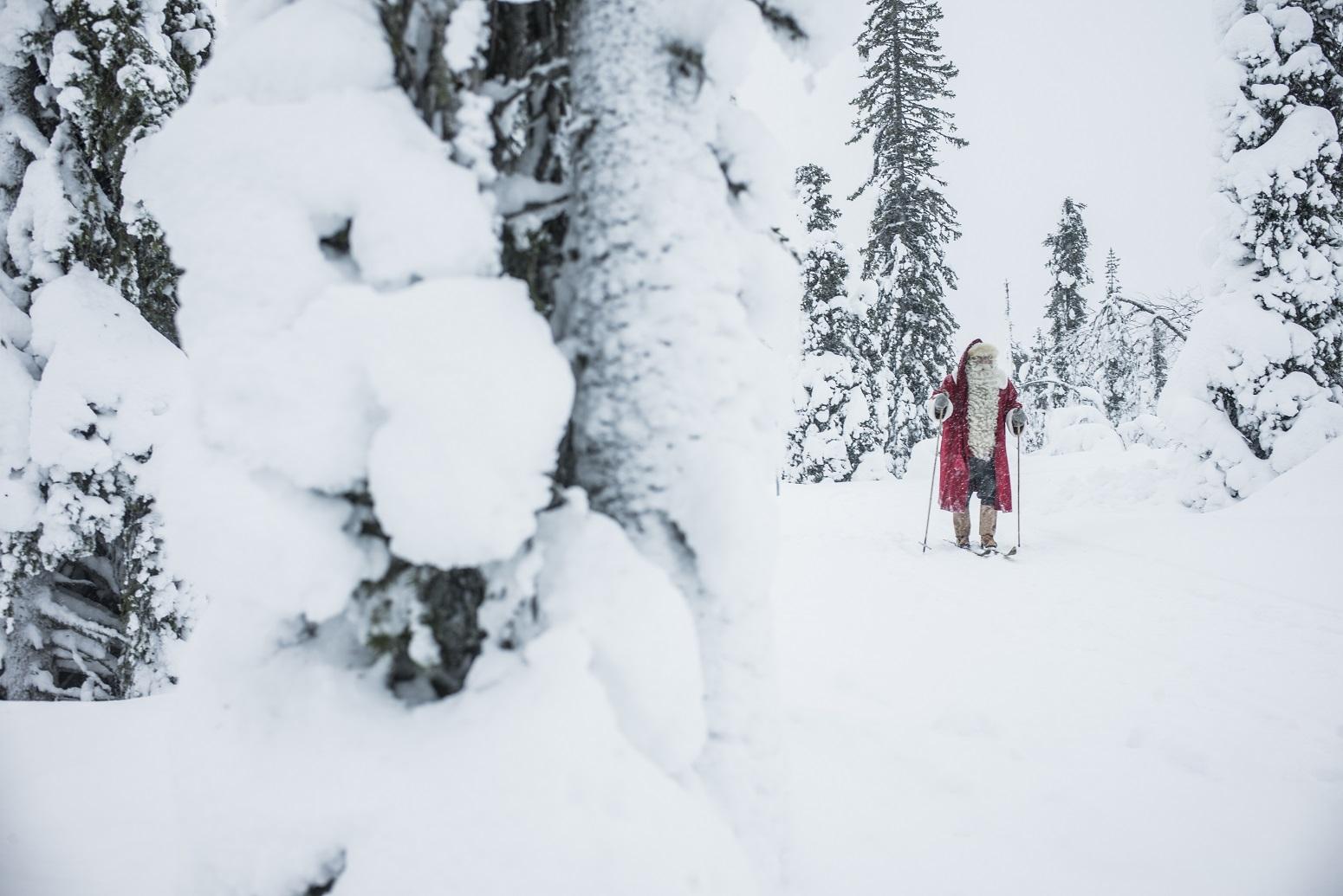 kuusamo esqui santa claus laponia