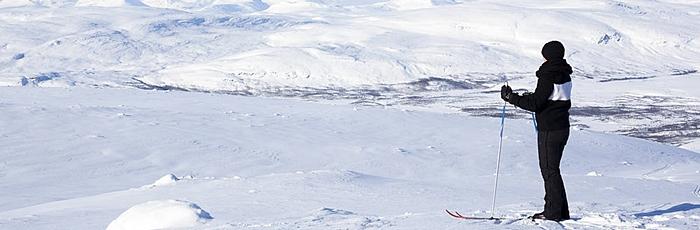 Alpes de Lynge viajar a laponia esqui de fondo