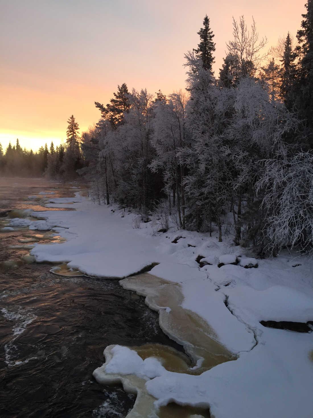 Elena R Arctic Circle Rovaniemi Navidad 2015 01