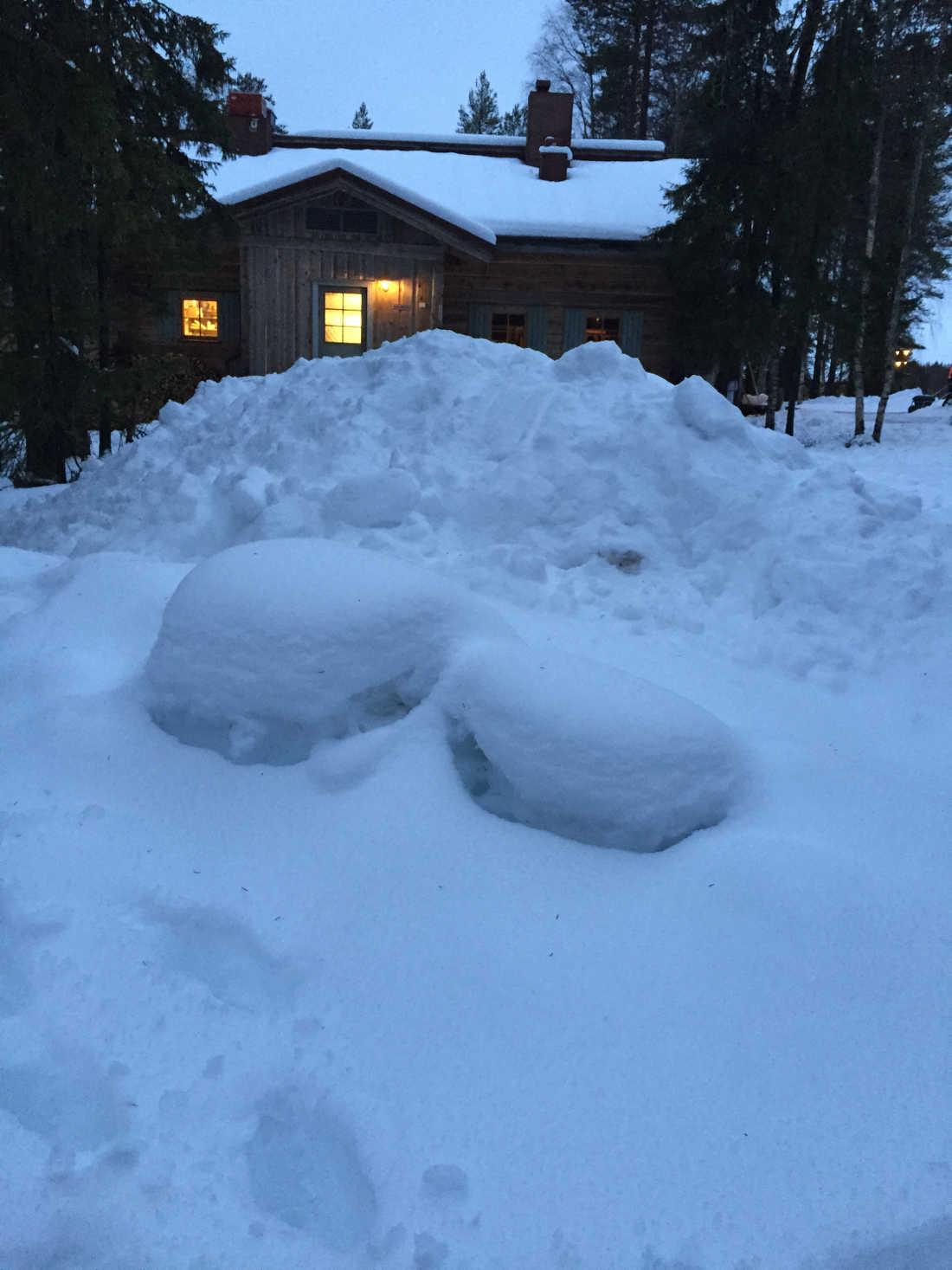 Elena R Arctic Circle Rovaniemi Navidad 2015