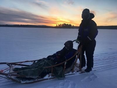 Familia Lopez Neipp Navidad Arctic 2017