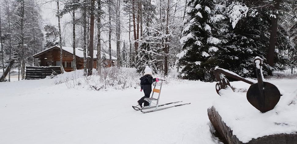 Familia De la Fuente Navidad 2018 Arctic Circle Wilderness 1