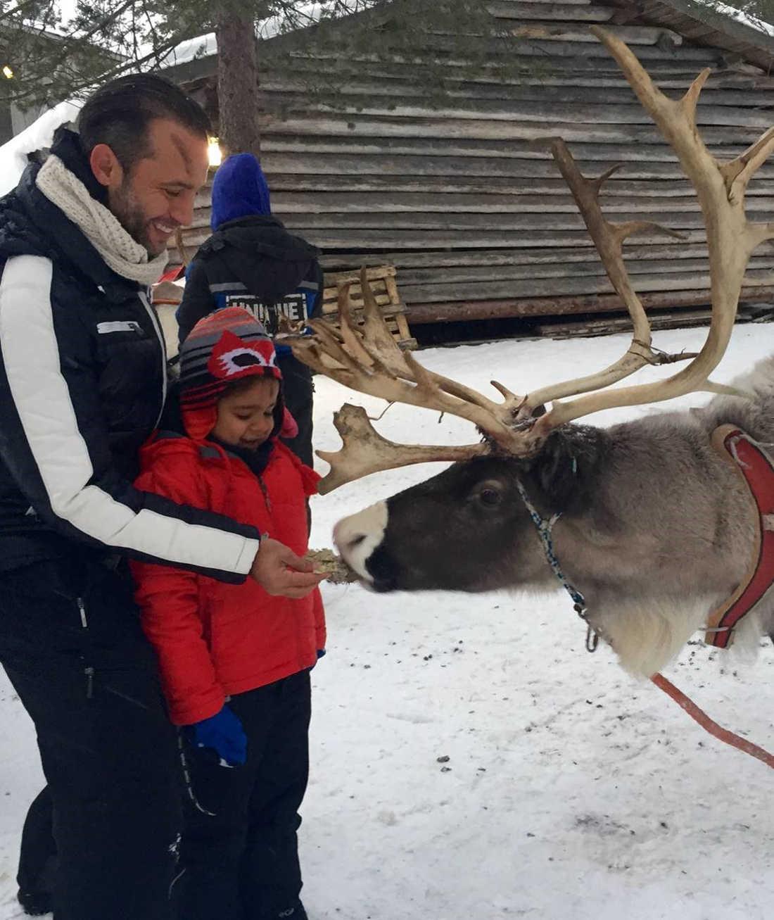 Jose Ll Arctic Circle Rovaniemi Fin de Ano 2015