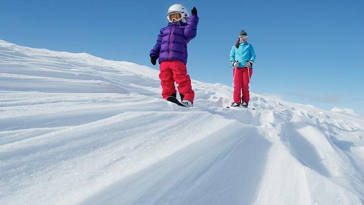 esquiando laponia