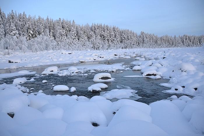 laponia diciembre rio