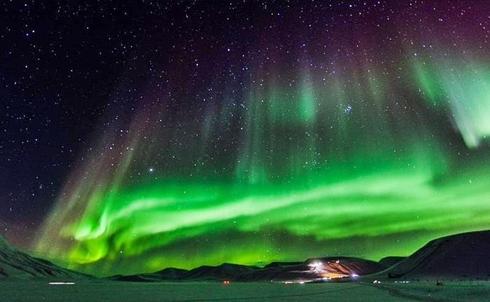 objetivo aurora boreal laponia en navidad
