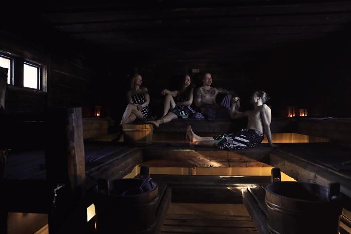 sauna salla