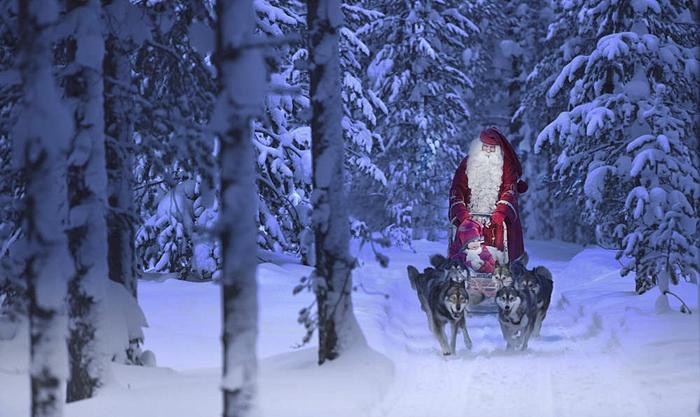 viajes laponia arctic circle diciembre